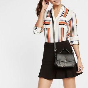 Express Vertical Bar Stripe Portofino Shirt